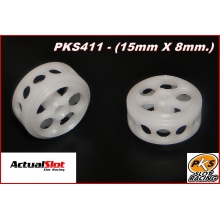 PKS NYLON WHEELS 15 x 8mm.